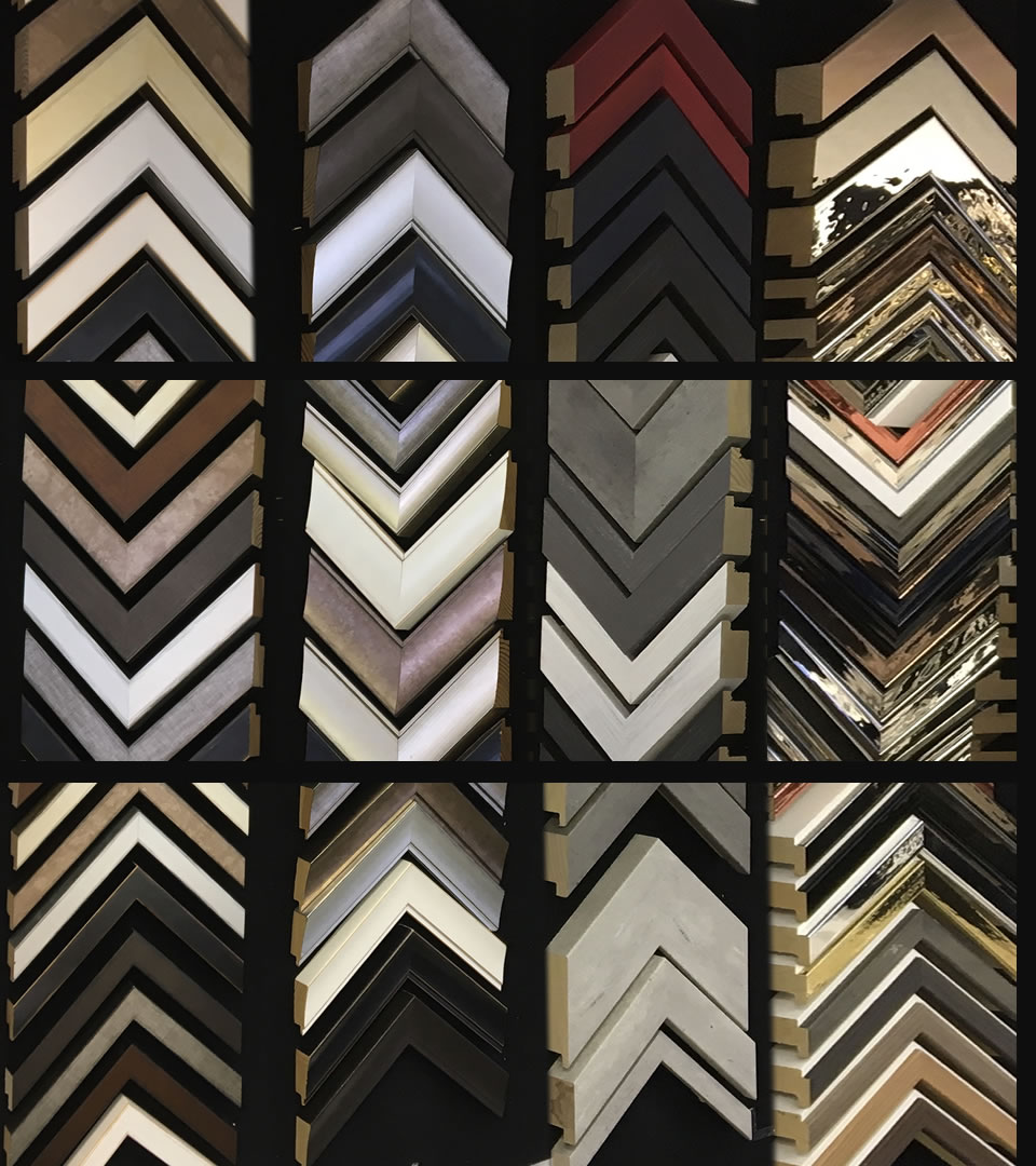 Frames Selection at Surrounds Picture Framing West Byfleet Surrey