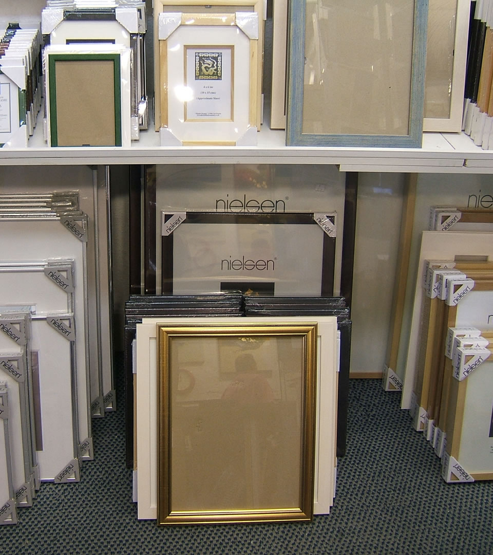 Ready Made Frames at Surrounds Art West Byfleet Surrey