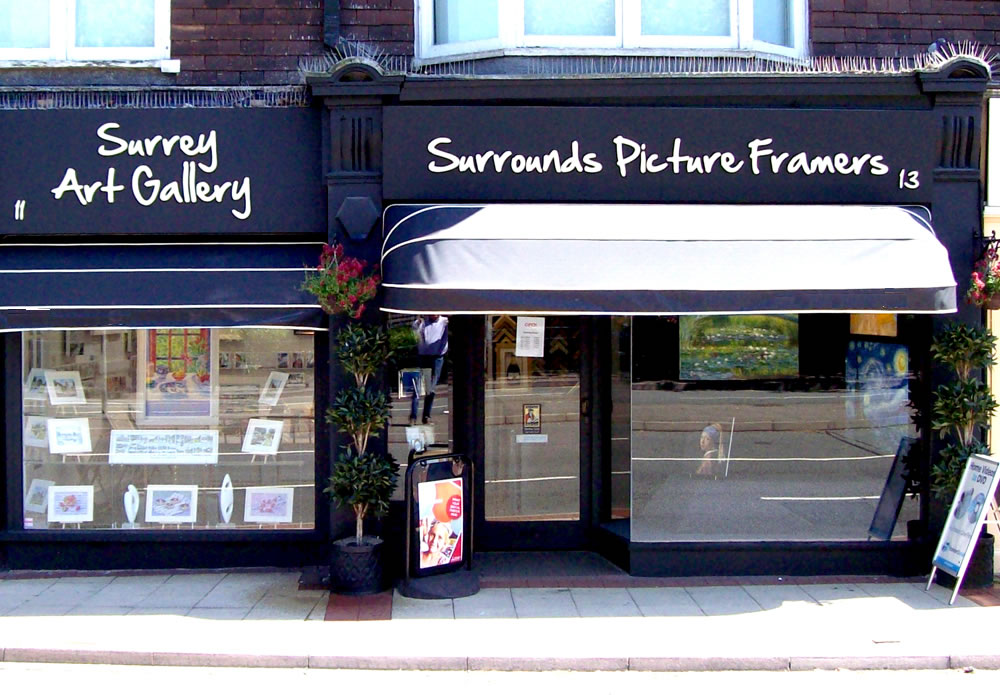 Surrounds Art - Picture Framing, Printing & Art Gallery - West Byfleet Surrey