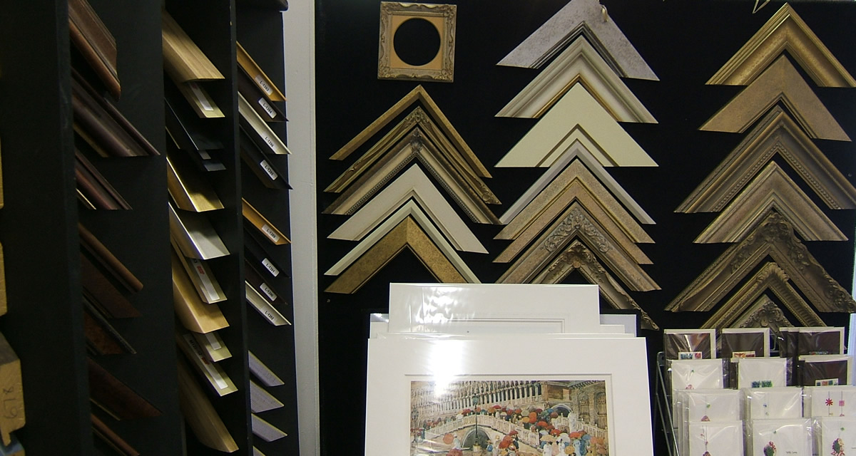 Picture Framing Services by Surrounds Art, West Byfleet, near Woking, Surrey