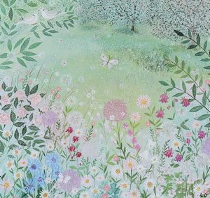 Secret Garden Framed Art Print For Sale – Surrounds Gallery West Byfleet Surrey