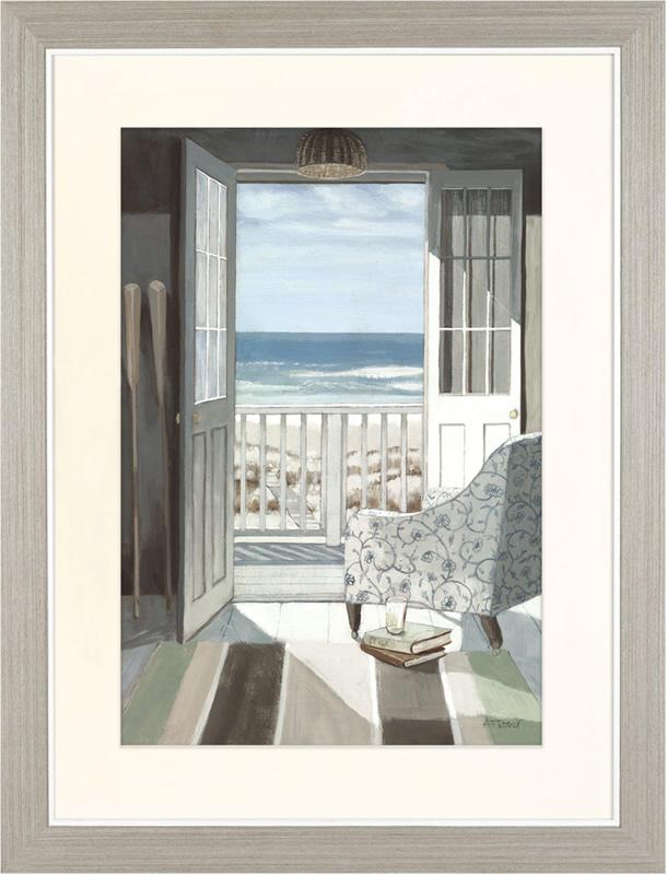 Beach Art Gallery - Sun Room - Artist Adelene Fletcher - Framed Print For Sale - Surrounds West Byfleet Surrey