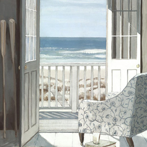 Beach Art Gallery – Sun Room – Artist Adelene Fletcher – Framed Print For Sale – Surrounds West Byfleet Surrey