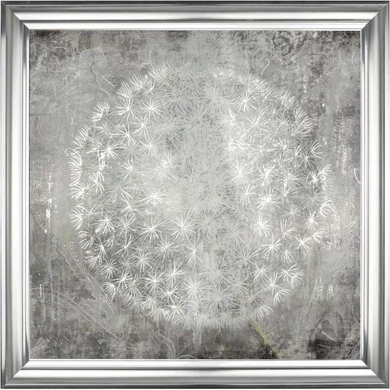Dandelion Clock Charm - Framed Art Print For Sale - Surrounds Gallery West Byfleet Surrey - Artist PI Creative Art