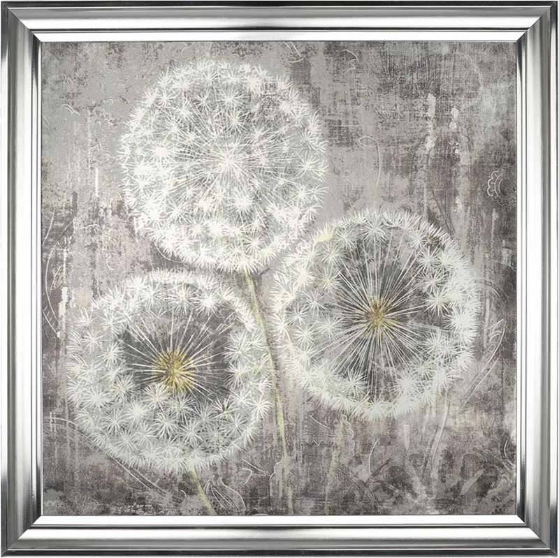 Dandelion Clocks Bewitch - Framed Art Print For Sale - Artist Carol Kavanagh PI Creative Art