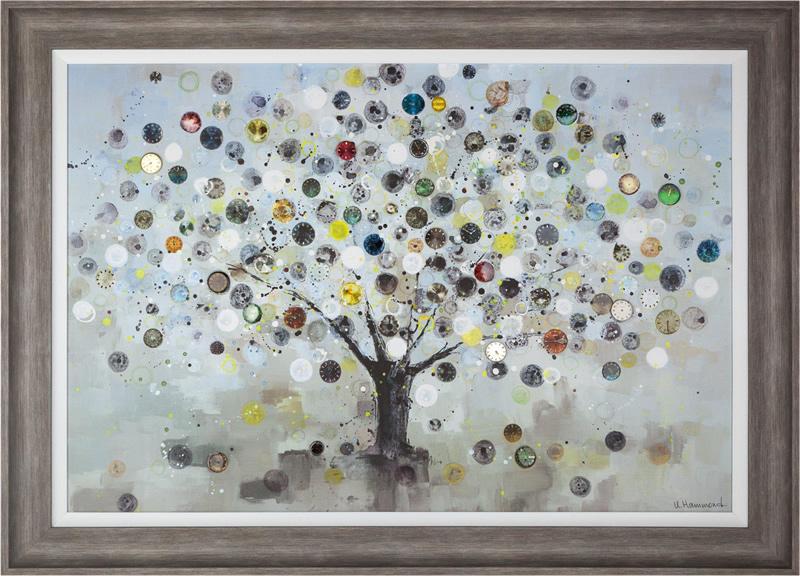 Watch Tree - Framed Art Print For Sale - Surrounds Gallery West Byfleet Surrey - Artist Ulyana Hammond