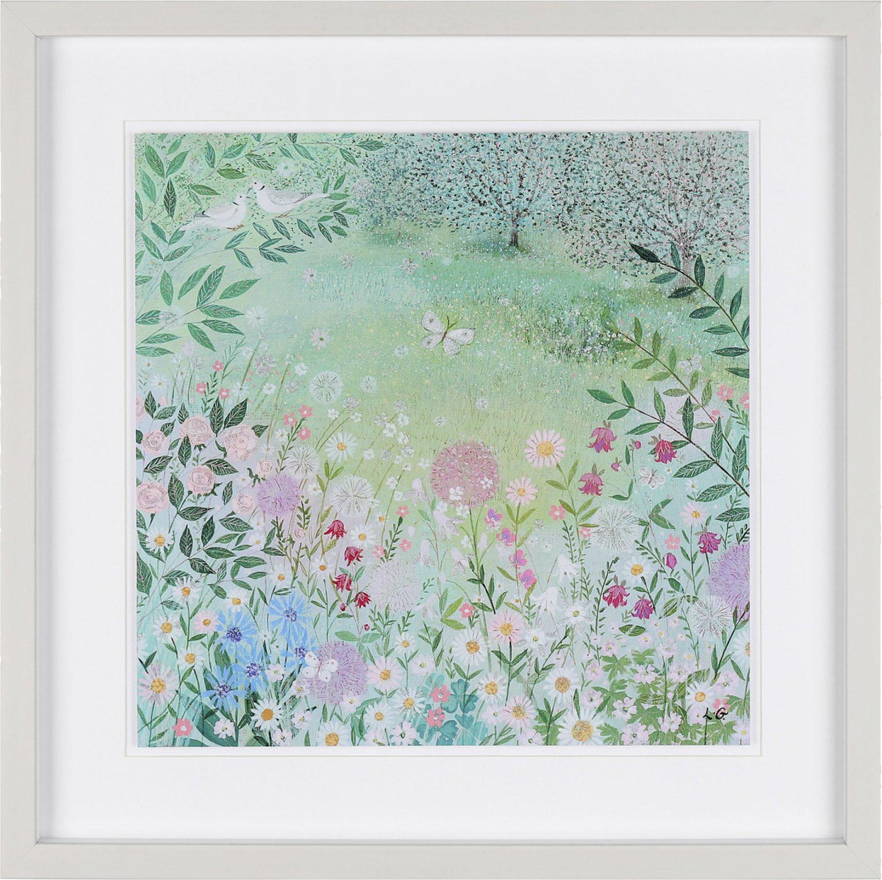 Secret Garden Framed Art Print For Sale - Surrounds Gallery West Byfleet Surrey